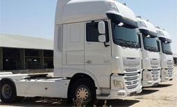 حل مشکل ترخیص کامیونهای اروپایی