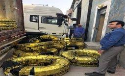 توزیع یکهزارونهصد حلقه لاستیک بین خودروهای جادهای در استان ایلام