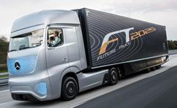 کامیونی از آینده، Future Truck 2025 کامیون هوشمند مرسدس بنز