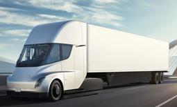 معرفی کامیون برقی تسلا با نام Semi
